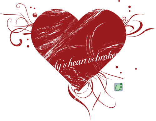 everybody's heart is broken now