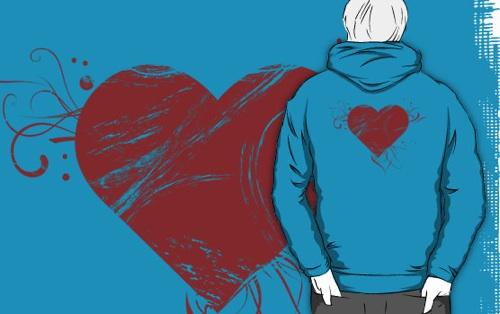the grunge heart hoodie